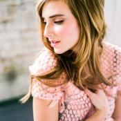 Pink Lace Top Boudoir Lingerie