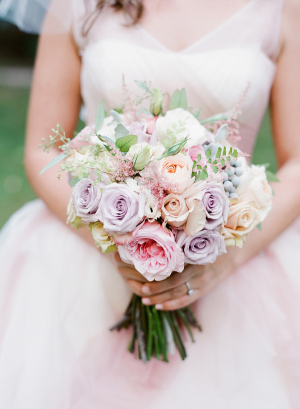 Pink and Lavender Rose Bouquet