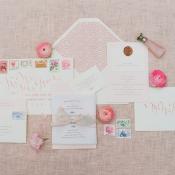 Pretty Pink Wedding Stationery