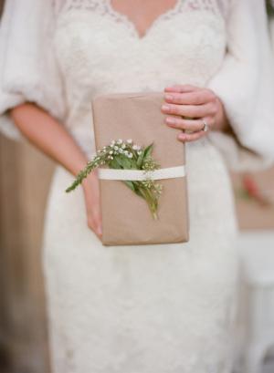 Pretty Wedding Favor Packaging