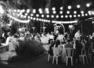 Reception Under String Lights