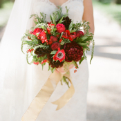 Red and Gold Bouquet