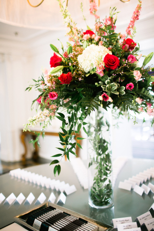 Red and Green Arrangement