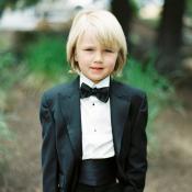 Ring Bearer in Tuxedo