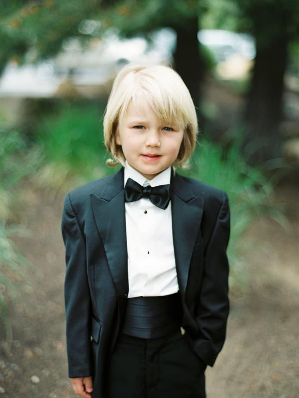 Ring Bearer in Tuxedo - Elizabeth Anne Designs: The Wedding Blog