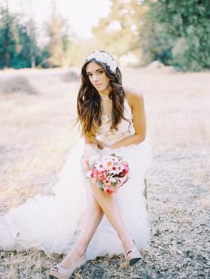 Romantic Bohemian Bride