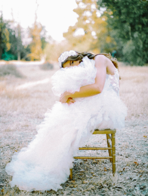 Romantic Bridal Photo