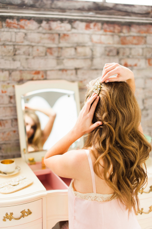 Romantic Dressing Table Bridal Inspiration