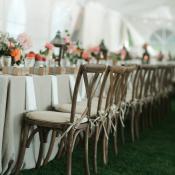 Rustic Elegant Outdoor Reception