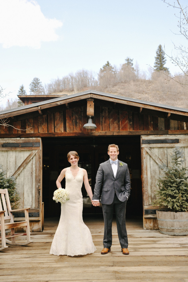 Rustic Utah Winter Wedding