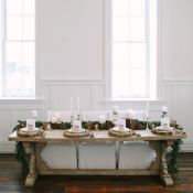 Rustic Wedding Tabletop