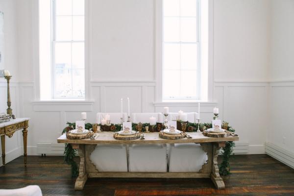 Rustic Wedding Tabletop
