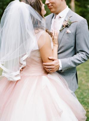 Satin Trimmed Bridal Veil