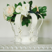 Shabby Chic Wedding Flowers