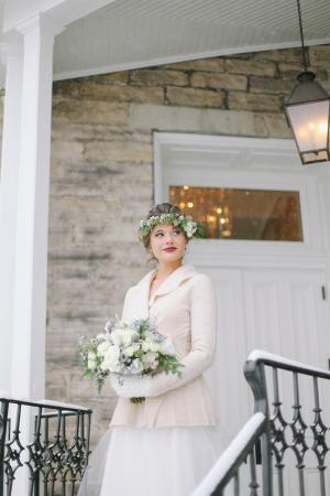 Snowy Winter Bride
