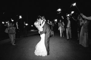 Sparkler Wedding Exit1