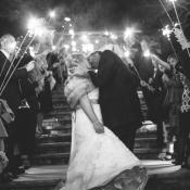 Sparkler Wedding Exit2