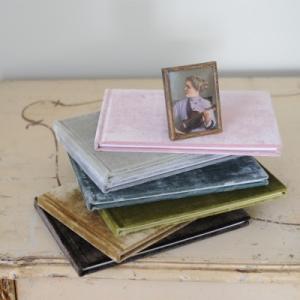 Velvet Guest Book