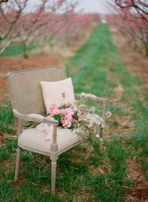 Vintage Bench Bridal Ideas