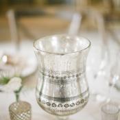 Vintage Mercury Glass Reception Decor