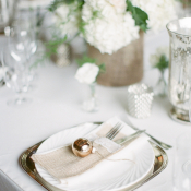 Vintage Romantic Reception Decor Ideas