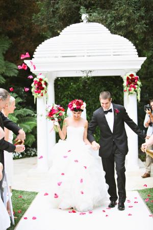 Wedding Flower Toss