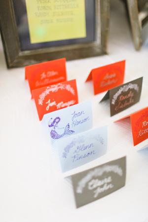 Whimsical Escort Cards
