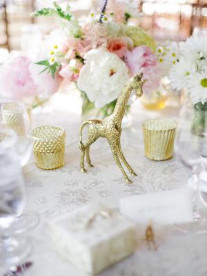 Whimsical Gold Spring Wedding