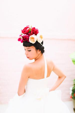Whimsical Modern Bride