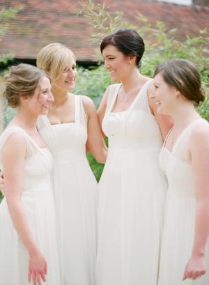 White Bridesmaid Dresses