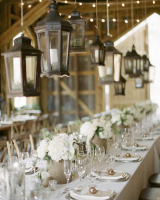 White Hydrangea Centerpieces