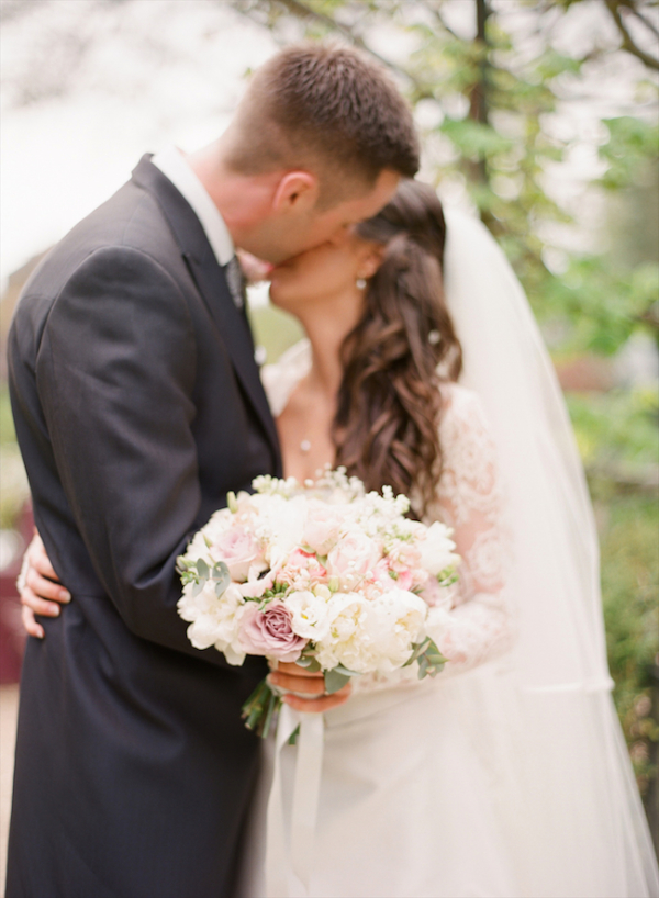 White and Pale Pink Bouquet