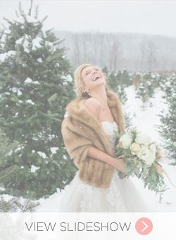 Winter Bride Looks