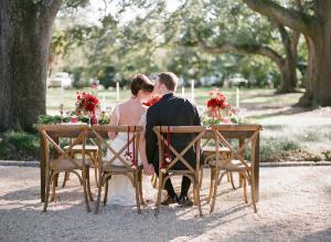 Winter Holiday Outdoor Wedding Ideas