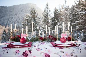 Winter Reception Table Ideas