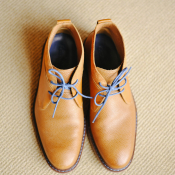 Yellow Groom Shoes