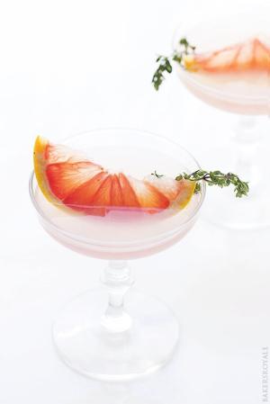 Blushing Kiss Martini | Bakers Royale