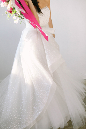 Bridal Gown with Dots