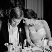 Bride and Groom Reception Moment