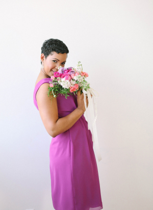 Bridesmaid in Radiant Orchid