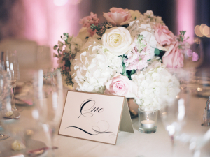Calligraphy Tent Place Cards