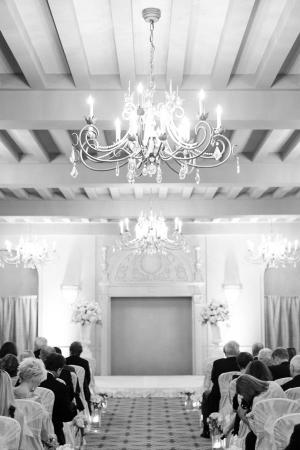 Ceremony in Hotel Ballroom