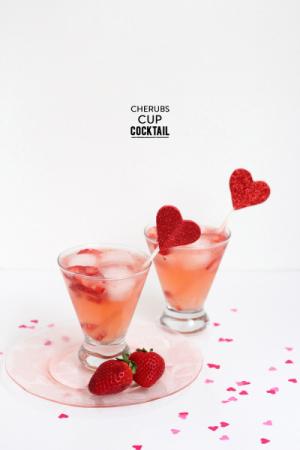Cherubs Cup Cocktail   Freutcake