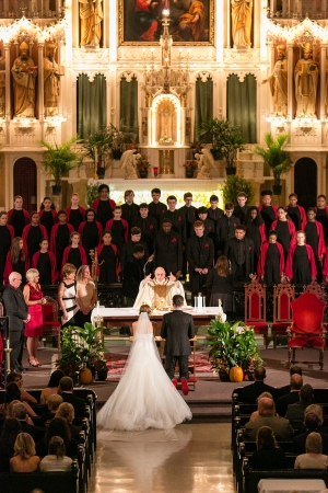 Chicago Childrens Choir Wedding Performance