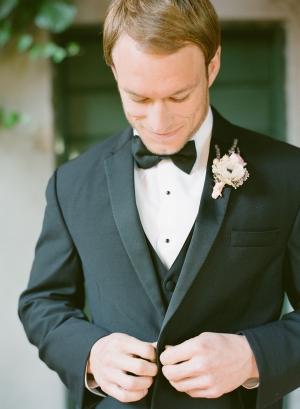 Classic Groom Bow Tie