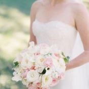 Classic Ivory Pink Bouquet