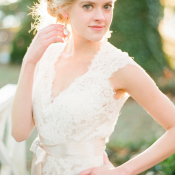 Classic Lace Bridal Gown