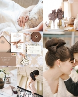 Coffee and Mauve Wedding Colors
