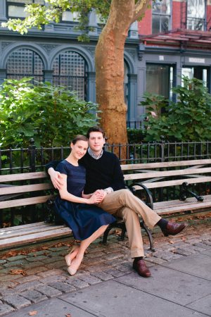 Couple on NYC Bench