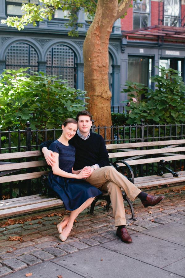 Couple on NYC Bench